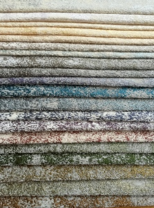 """SUPER SOFT & LUXURIOUS.  GORGEOUS FOR ALL UPHOLSTERY USE; AND ALSO REVERSIBLE, NATURAL UNDYED SILK CHENILLE YARN SET AGAINST COTTON & VICSCOSE COLORS.  53"""" WIDE. FOR MORE INFO: HWANG.LAUREN@GMAIL.COM"""