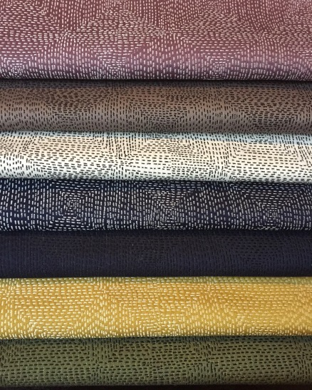 AVAILABLE IN 7 DISTINCTIVE SHADES, JAPANESE INSPIRED, 100% COTTON, GORGEOUS FOR BOTH DRAPERY & UPHOLSTERY APPLICATION